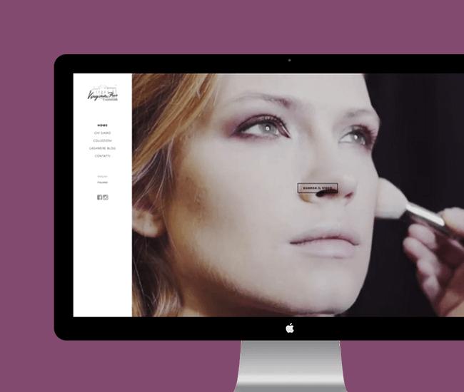 design sito web fashion