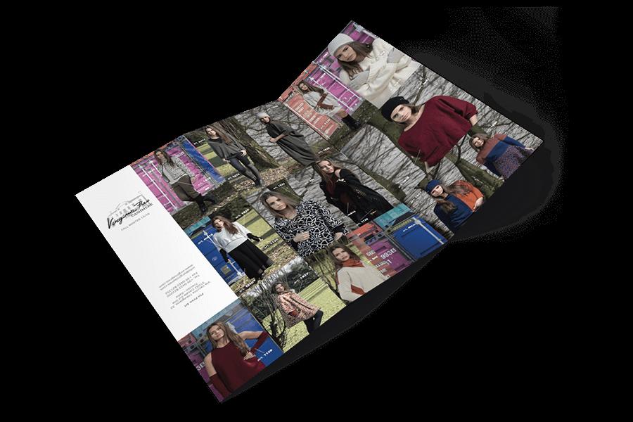 realizzazione brochure fashion