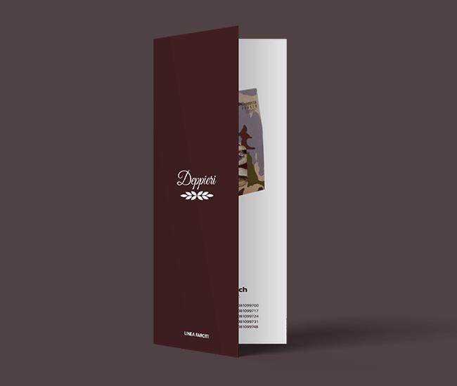 realizzazione grafica brochure pieghevole
