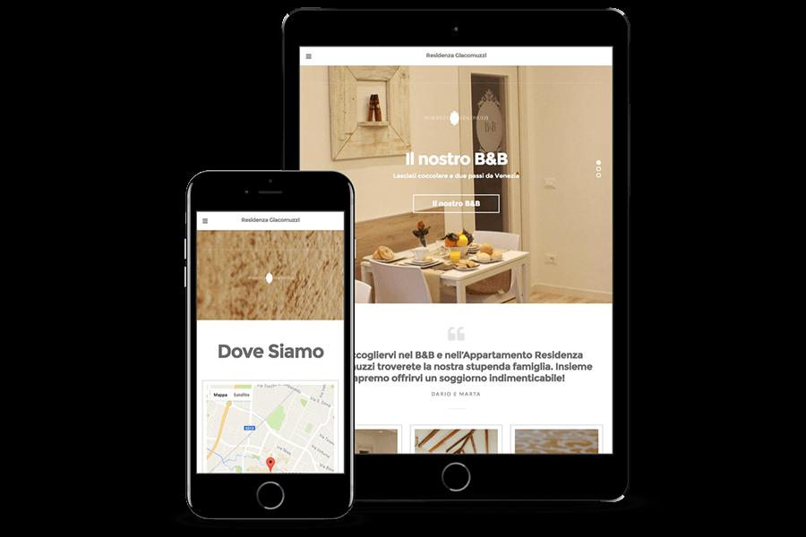 realizzazione sito web bed and breakfast Venezia