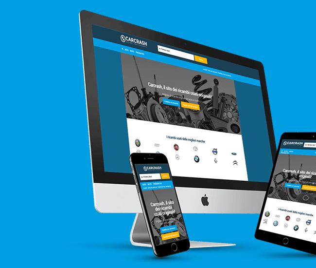 sito web responsive auto e moto